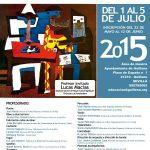 Cartel XII curso nacional de música villa de guillena - 2015